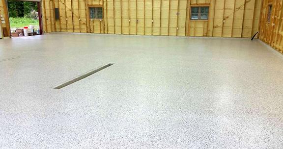Epoxy Floor Garage