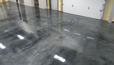 Metallic Floor System