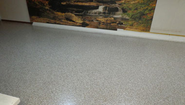 Basement Concrete Floor Epoxy Sealer